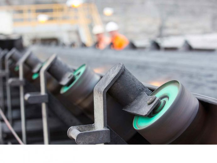 Conveyor Rollers, Frames & Tracking Components