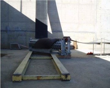 Conveyor Belt Turning Frames